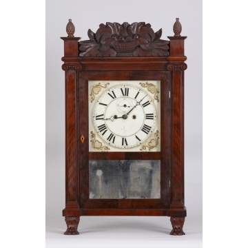 R. E. Northrup Salem Bridge Shelf Clock