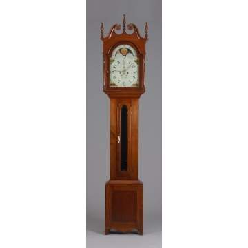 John Solliday, Somney Town, PA, Tall Case Clock
