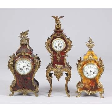 French Boule Clocks