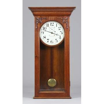 Waltham Clock Co. Wall Regulator