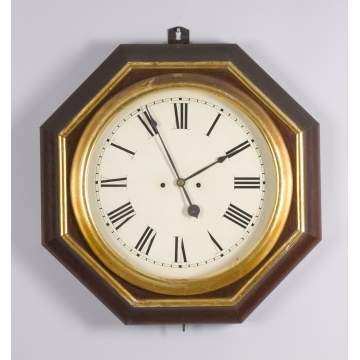 Atkins Double Fusee Gallery Clock