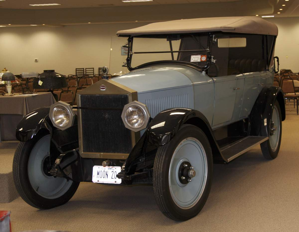 Car Auctions Ny >> 1920 Moon Car | Cottone Auctions