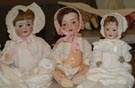 Group of 3 Dolls