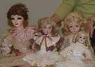Group of 4 Dolls