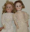 """Special"" Bisque Doll & H.&Co. Viola"