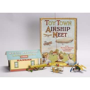 Parker Bros. Toy Town Airship Meet Game.