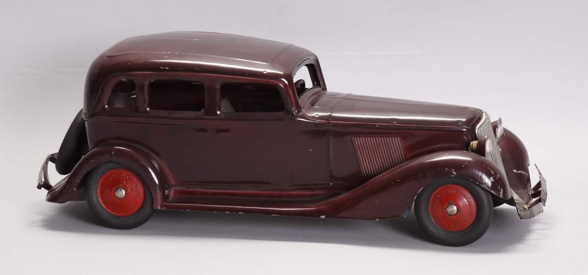 ... -Cor Toys, Washington, Indiana, Pressed Steel Car | Cottone Auctions