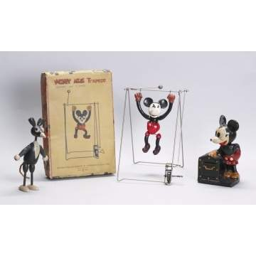 Group of Mickey Mouse Toys