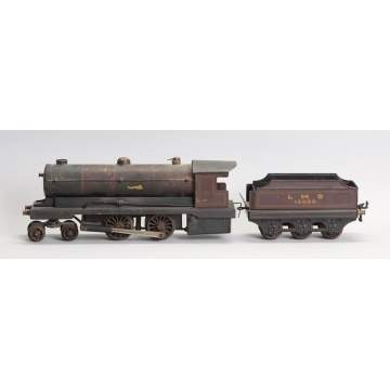 Bowman Models Early Steam Hand Painted Locomotive & Tender