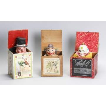 German Paper Mache & Lithographed Paper Pop-Ups