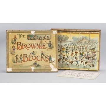 McLoughlin Bros./Parker Cox The Brownie Blocks