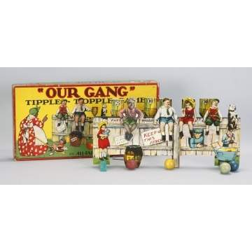 """Our Gang"" Tipple-Topple"" Game"