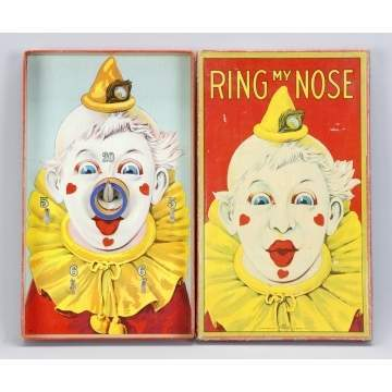 Milton Bradley Ring My Nose