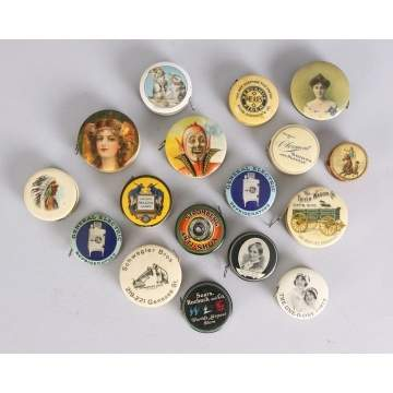 Group of 17 Misc. Advertising Tape Measures