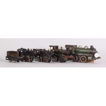 3 Misc. Tin & Iron Clock Work Engines