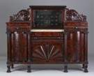 Marble Top Sideboard, attr. to Anthony Quervelle of Philadelphia