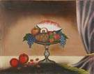 Sgn. Ferguson 19th Cent. Oil/Linen Still Life