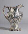 Gorham Sterling Silver Water Pitcher w/Repousee