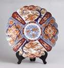 Late 19th Century Imari Charger w/Scalloped Edge