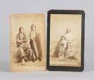 2 Photo Size Cabinet Cards