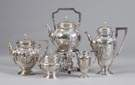 19th Cent. 5 Pc. Sterling Silver Tea & Coffee Set
