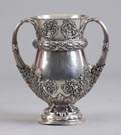 Monumental Sgn. Tiffany & Co. Makers Sterling Silver Trophy