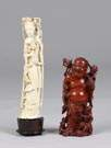 Wood & Ivory Carved Figures