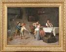 19th Cent. European genre scene