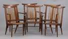 Set of 6 George Nakashima  259 Side & Arm Chairs
