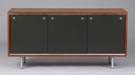 George Nelson for Herman Miller Aluminum & Walnut Credenza
