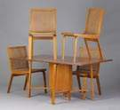 Mid Century Drop Leaf Table & Chairs