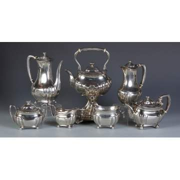 Tiffany & Co. Makers 7 Pc. Sterling Tea-set