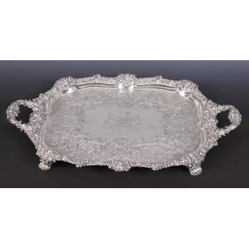 George III Sterling Tray