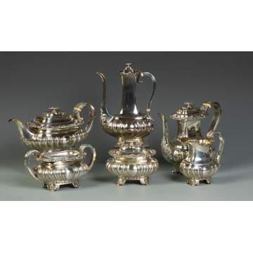 Gorham 6 Pc. Sterling Tea Set