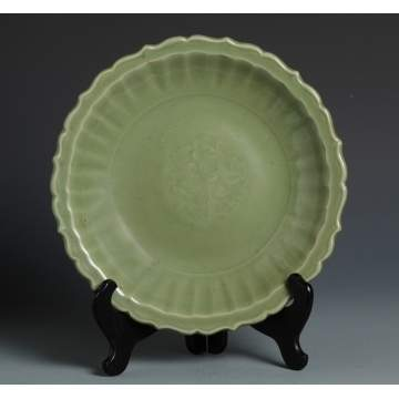 18th Cent. Celadon Charger