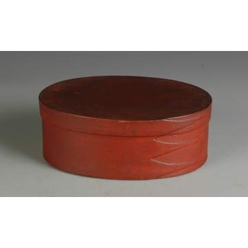 3 Fingered Shaker Style Oval Box