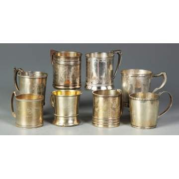Group of 8 Handled Children's Cups