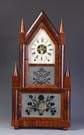 Birge & Fuller Steeple on Steeple, Bristol, Ct. Shelf Clock
