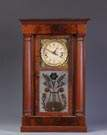 Crane's Patent Month Clock Mfg. By J.R. Mills & Co., NY, Shelf Clock