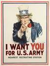 """I Want You for U.S. Army"" Poster"