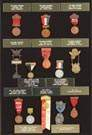 13 Grand Army of the Republic Medals/Badges