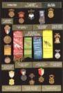 18 Grand Army of the Republic Medals/Badges