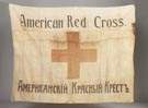 American Red Cross Flag from Russian Prisoner of War, Sam Cronheim