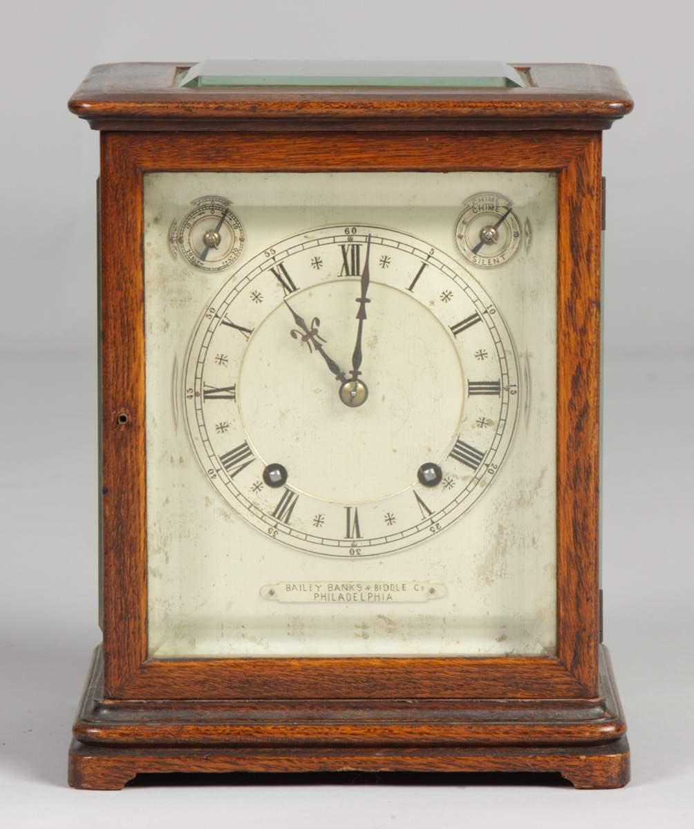 Bailey Banks Biddle Shelf Clock Cottone Auctions