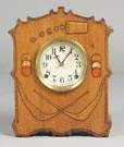 Gilbert Gambler Shelf Clock