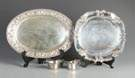 Sterling Trays, Sugar & Creamer