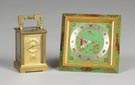 Carriage Clock & Chelsea Shelf Clock