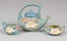 Roseville 3 Pc. Tea Set