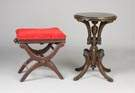 Victorian Stool & Stand
