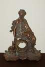 Bronze Figural Clock Case